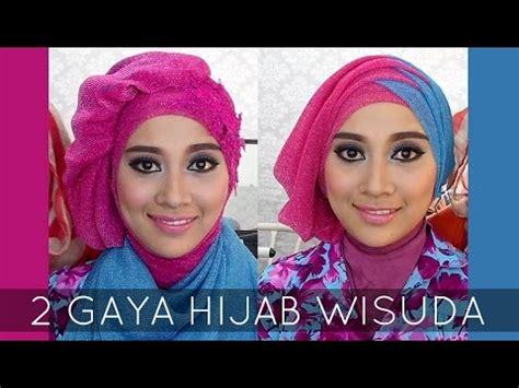 tutorial hijab wisuda 2015 mutia yulita tutorial make up wisuda 2015 videolike