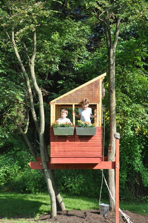 Housr Plans Une Cabane Dans Les Arbres Pour Votre Enfant Archzine Fr