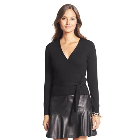 Diane Furstenberg Sweater diane furstenberg sweater wrap dress sweater tunic