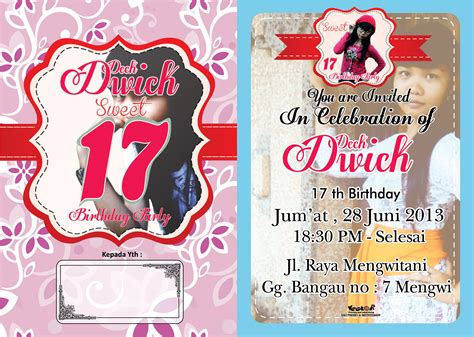 Undangan Ulangtahun 2017 by Contoh Formal Invitation Pernikahan Contoh 36