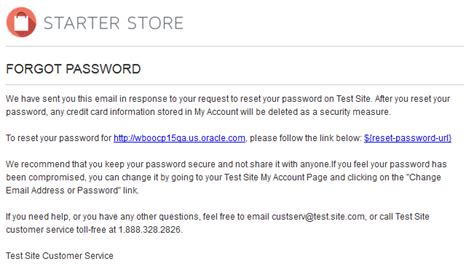change password email template forgot your password email template
