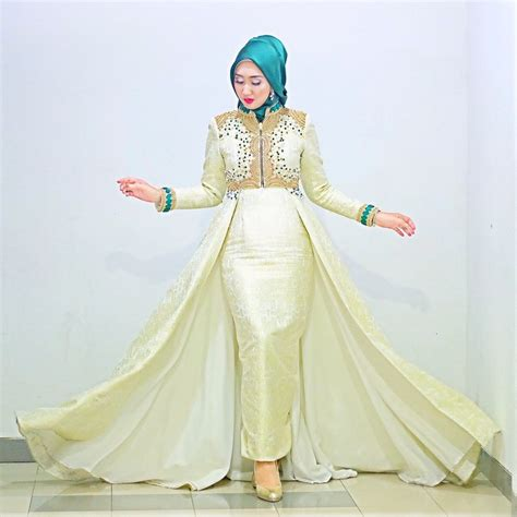 Baju Pesta Muslim 15 model baju muslim untuk pesta ala dian pelangi