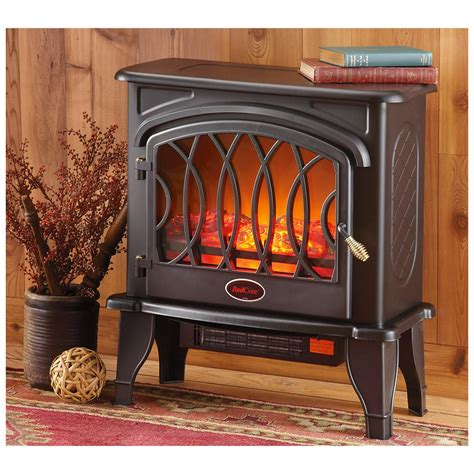 Electric Stove Fireplace Heater by Redcore Electric Infrared Stove Heater 298522