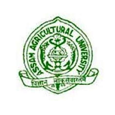 Logo Aau Mba by Assam Agricultural Recruitment 2018 Jrf Vacancy