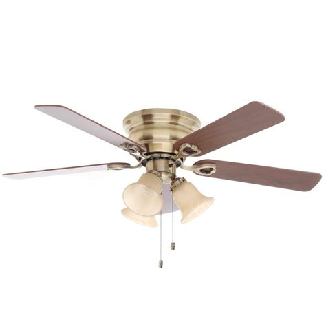 home depot ceiling fans with lights flush mount ceiling fans with lights home depot large
