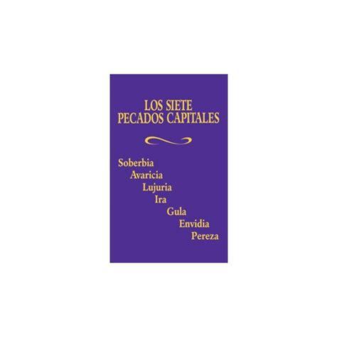 los siete pecados capitales 8415691416 los siete pecados capitales the catholic company