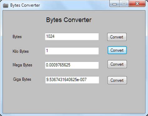 converter bit to byte convertire byte in kilobyte megabytes gigabyte e
