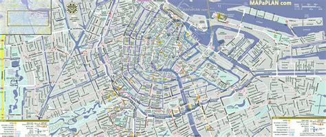 map of amsterdam amsterdam map world of map