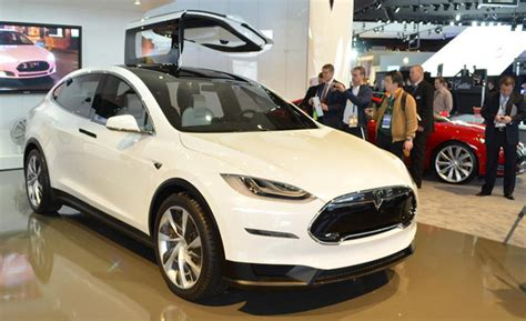 Tesla Model X Production Date Tesla Model X Crossover Nearly Ready For Production