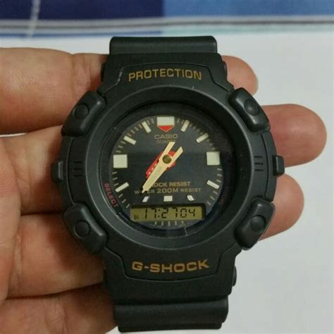 Casio Army casio g shock aw 560 army green colour s fashion on