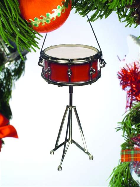 buy snare drum christmas ornament music gift christmas