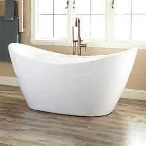 Floor Standing Tub Faucet Acrylic Freestanding Bathtub Signaturehardware Com