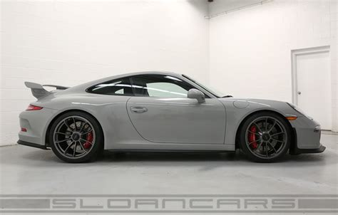 fashion grey porsche gt3 2015 porsche 991 gt3 pts fashion gray black 2 158 miles