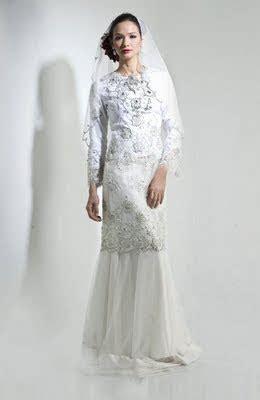 Dress Ferlyn Putih Hitam Md erza syahanas s baju nikah idaman