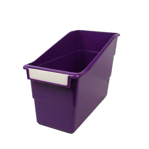 Purple Shelf by Purple Shelf File With Label Holder Standard