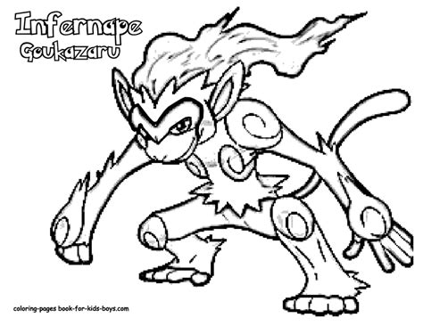 pokemon coloring pages infernape pokemon infernape image coloring pages book for bebo pandco