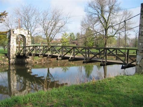 the swinging bridge story bridgemeister story city swinging bridge