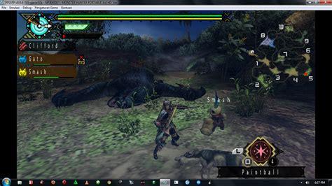 dual game full version free monster hunter portable 3rd hd version psp iso full game