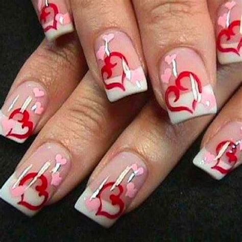 subtle nail designs women in there 40s 40 cute pink nails design for valentines misiwe blog