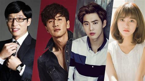 exo variety shows 2017 yoo jae suk lee kwang soo exo s suho gugudan s kim