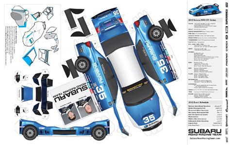 How To Make A Paper Race Car - 14 best photos of printable paper model cars 3d paper