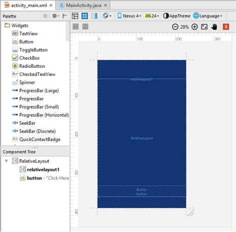 layout view in android studio show hide latest blueprint design view in android studio