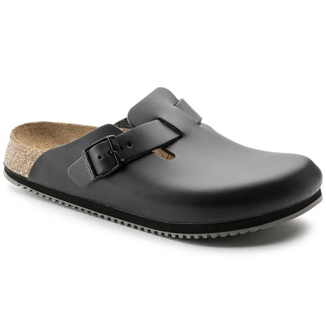 boston grip black leather shop at birkenstock