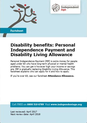 personal independence payment appeal letter disability benefits personal independence payment and disability living allowance independent age