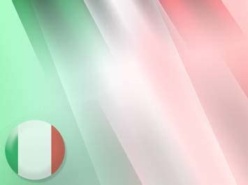 Italy Flag 06 Powerpoint Templates Italian Powerpoint Template