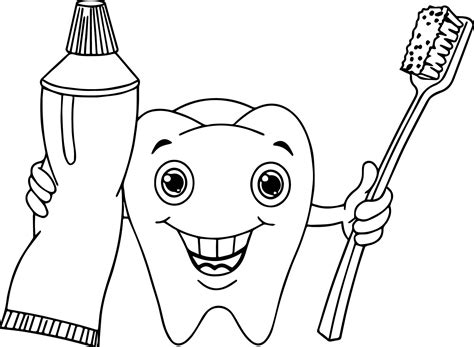 dental coloring pages dental coloring page wecoloringpage