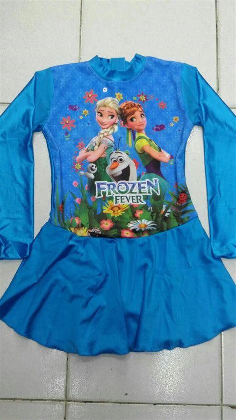 Produk Baju Muslim Anak Cewe Size 7 12 Tahun Baju Muslim Murah jual baju renang anak muslim frozen size sd gp fashion