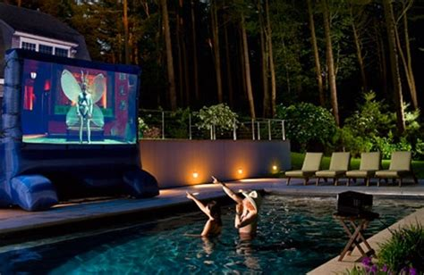 backyard home theater 15 wonderful backyard home theaters