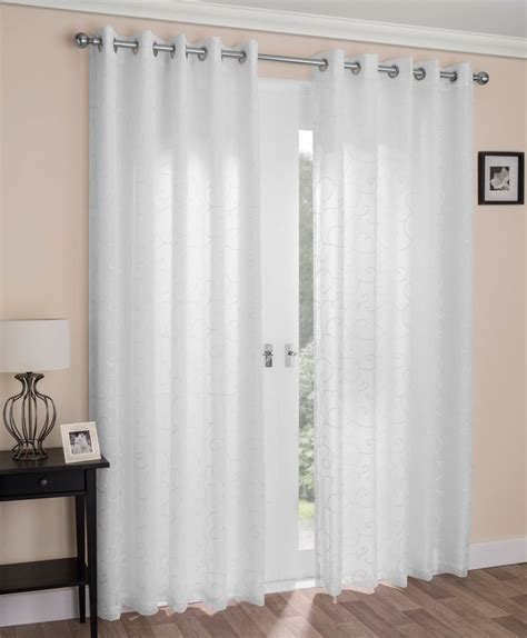 white cotton curtains uk shop for beautiful net curtains in a range of styles my