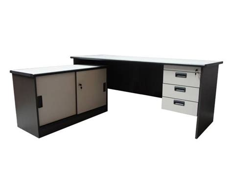 grey l shaped desk grey l shape office desk and executive tables