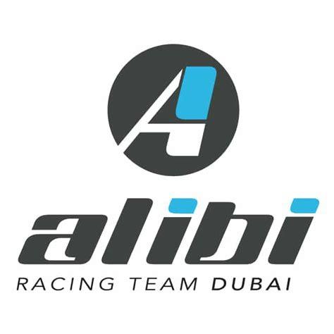 design logo racing team alibi dubai racing team logo dubai motor sports logo design