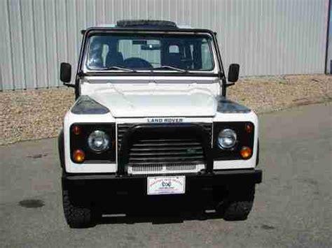 buy car manuals 1997 land rover defender 90 buy used 1997 land rover defender 90 4x4 super low miles in longmont colorado united states