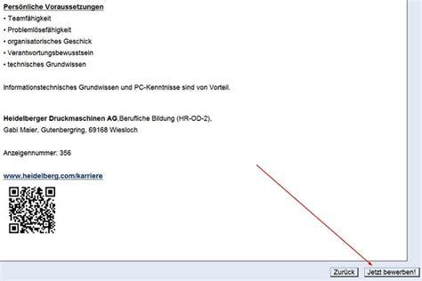 Anschreiben Bewerbung Compliance heidelberger druckmaschinen ag