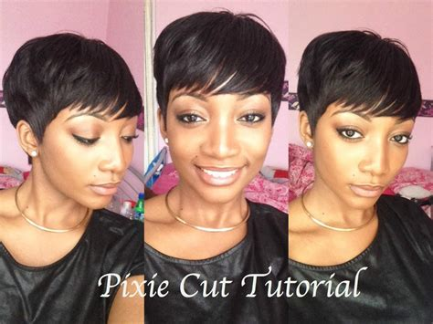 DIY   How To Cut & Style A Pixie Wig   YouTube