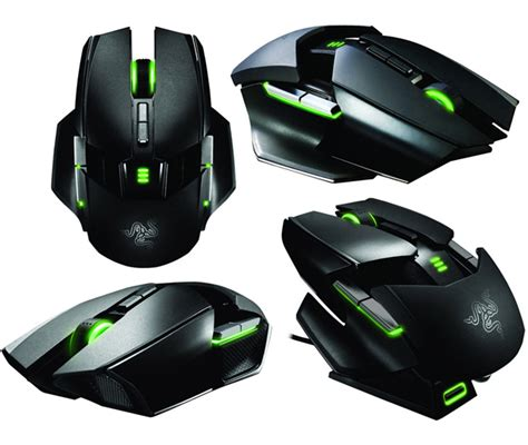 Razer Ouroboros Wireless Gaming Mouse razer a pus in sfarsit in vanzare mouseul ambidextru ouroboros la 130