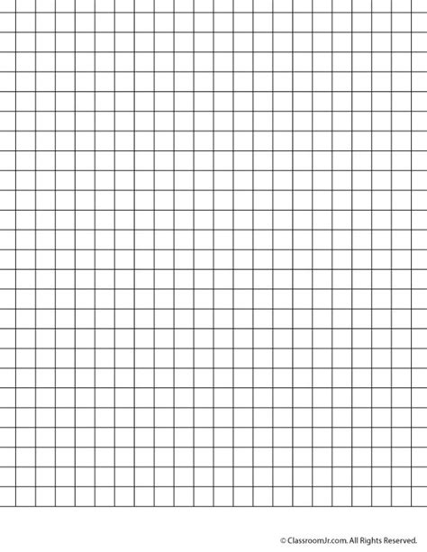 Centimeter Graph Paper Printable | 7 best images of printable centimeter grid paper 1 2