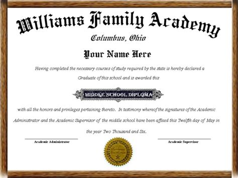 high school diploma templates for free best photos of home school free blank diploma template
