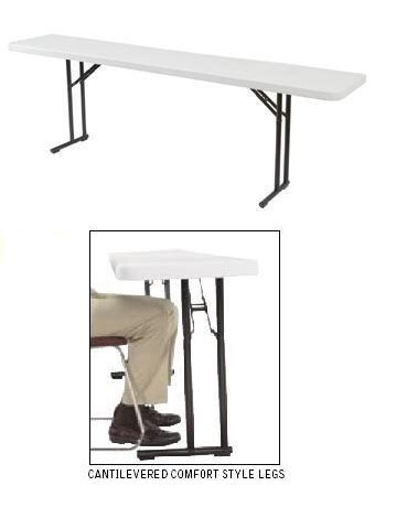 18 x 60 folding table seminar tables nps bt1860 gray 18 x 60 inch folding