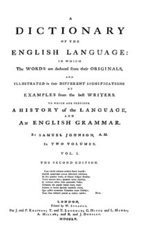 A Dictionary of the English Language - Wikipedia