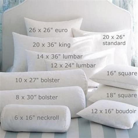 Size Pillows by What Is The Difference Between A Pillow And Pillow Sham