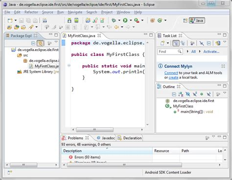eclipse java swing tutorial related keywords suggestions for eclipse java