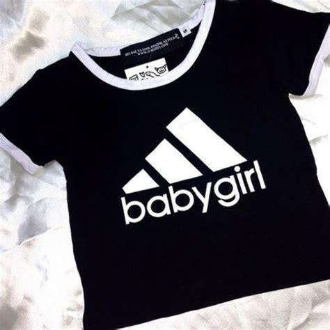Top Ten Baby Pink Sleeve Shirt top baby baby adidas aesthetic aesthetic