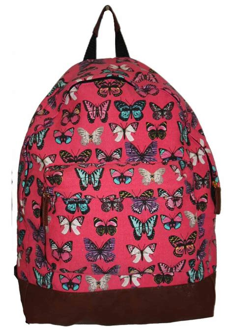 Backpack Butterfly new butterfly backpack bag school collage travel