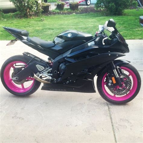 Pinkes Motorrad 125 by R1 Pink Motorcycle Pink 2006 Yamaha R6 My Pride And