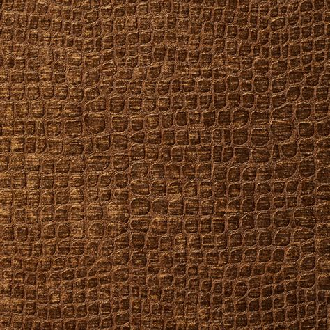 alligator upholstery brown alligator print shiny woven velvet upholstery fabric
