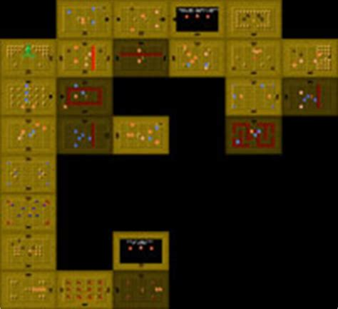 legend of zelda map level 6 legend of zelda maps ian albert com